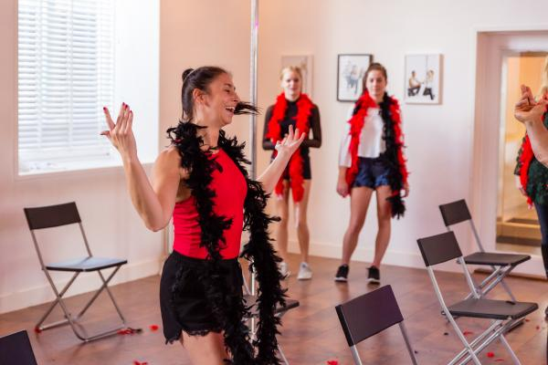Burlesque Workshop in Gent