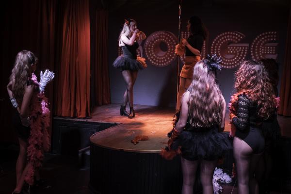 Burlesque Workshop in Gent
